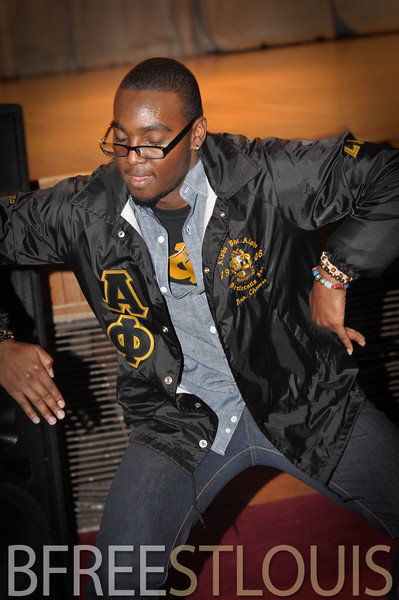 (12.07.2013) ALPHA PHI ALPHA FALL 2013 PROBATE @ HARRIS-STOWE STATE UNIVERSITY